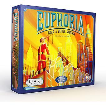 Euphoria Build a Better Dystopia Board Game