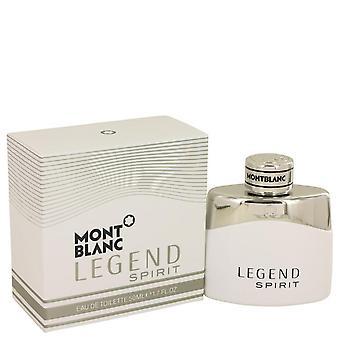 Montblanc lenda spirit eau de toilette spray por mont blanc 50 ml