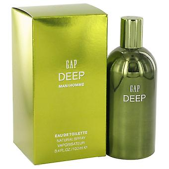 Gap Deep Eau De Toilette Spray By Gap 3.4 oz Eau De Toilette Spray