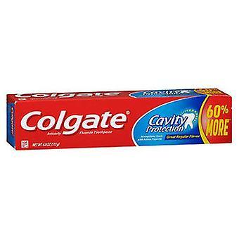 Colgate Cavity Protection Fluoride Toothpaste, 4 Oz