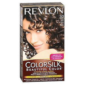 Revlon Colorsilk hårfarge, 3N mørk brun hver