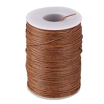 70 Meter Natural Ramie Waxed Thread Round Cord Leather Craft Line