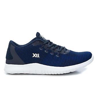 Chaussure homme Xti 043383 Bleu En tissu ultra léger