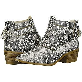 Fergalicious Women's Shoes Malaki Fabric Almond Toe Ankle Fashion Boots