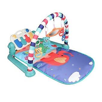 3 in 1 Vauvan leikkimatto roikkuvan pehmeän kalkkarokäärmeen musikaalilla