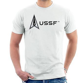 U.S. Space Force Lighter Logo USSF Men's T-Shirt