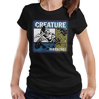 A criatura da Lagoa Negra nada em seu próprio risco Mulheres 'camiseta