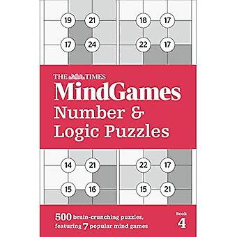 The Times MindGames Number and Logic Puzzles Book 4: 500 brain-crunching puzzles,� featuring 7 popular mind games