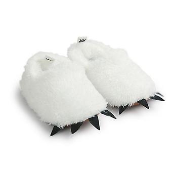 Winter warme klauw patroon indoor schoenen voor pasgeboren baby