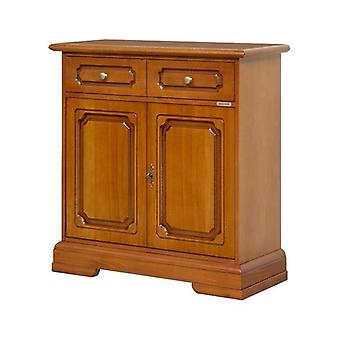 Classic Wooden Credenzina 2 Doors 1 Drawer