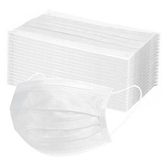 3 couche jetable - antipollution, masque facial d'hygiène de poussière