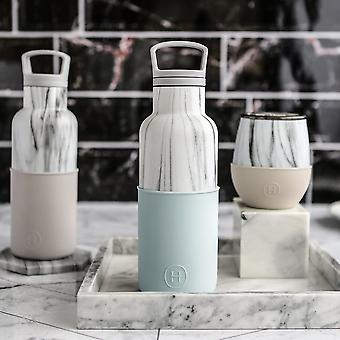 Marble Bottle And Tumbler Set