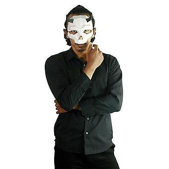 Short Horned Skull Mask