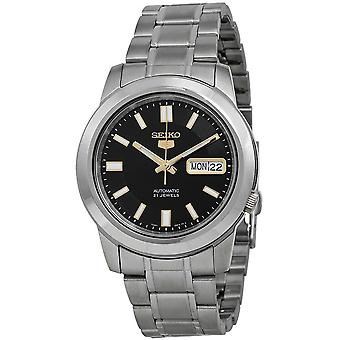 Seiko 5 Gent Watch SNKK17K1 - Stainless Steel Gents Automatic Analogue