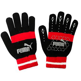 Puma No 1 Logo Cat Magic Winter Unisex Käsineet 7G Musta Punainen 041504 03