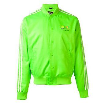 Adidas Pharrell Williams Mens Track Bomber Jacket Groen Z97401 A4C