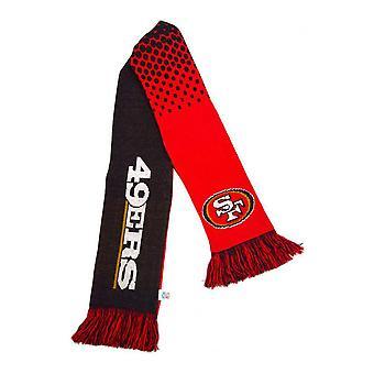 San Francisco 49ers Official NFL Fade Design Scarf