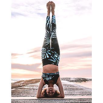 CO2 ljus X tillbaka yoga BH