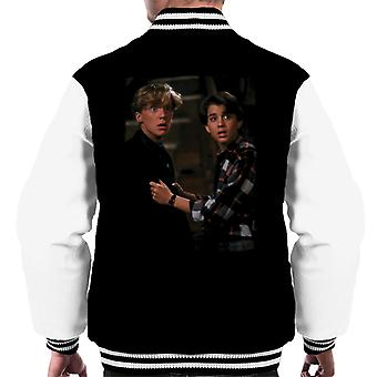 Weird Science Wyatt och Gary Men & apos, s Varsity Jacket