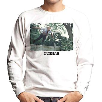 Shaun of the Dead Jumping Over Fence Men's Sweatshirt