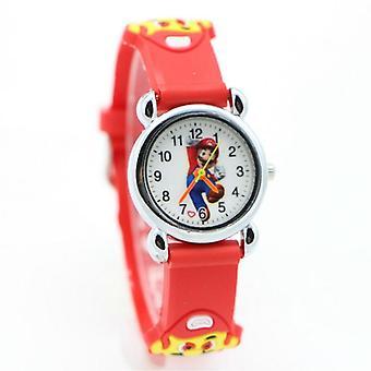Cartoon Super Mario Doll Copii Ceas,,, Studenți Quartz Ceasuri de mână