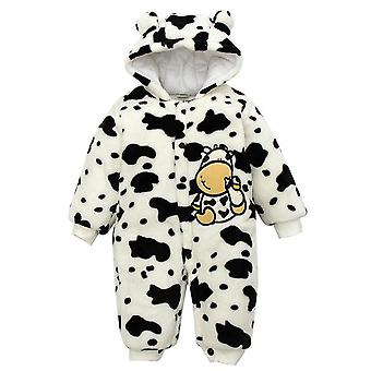 Baby Rompers Cute Hooded Jumpsuit