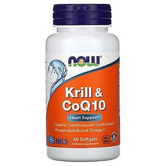 Maintenant Foods, Krill & CoQ10, 60 Softgels