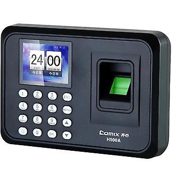 Comix H500A biometrische vingerafdruk + wachtwoordherkenning Office Aanwezigheidsmachine Sensor Recorder Acc