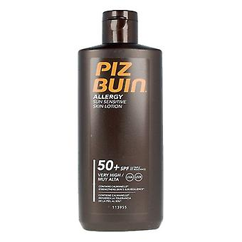 Sun Lotion Allergy Piz Buin Spf 50 (200 ml)