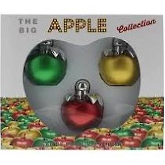 The Big Apple Gift Set 100ml Green Apple EDP + 100ml Gold Apple EDP + 100ml Red Apple EDP