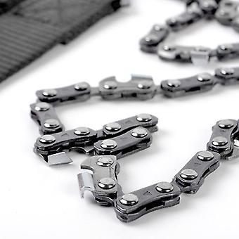 Mini Pocket Chain såg nödöverlevnad motorsåg med väska