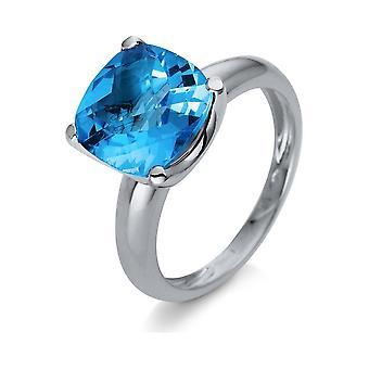 Luna Creación Promessa Anillo Color Piedra 1S157W854-1 - Ancho del anillo: 54