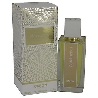 Nocturnes d ' Caron Eau De Parfum Spray (nuevo envase) por Caron 3.4 oz Eau De Parfum Spray