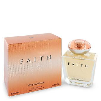 Swiss Arabian Faith Eau de Parfum Spray por Swiss Arabian 3,4 oz Eau de Parfum Spray