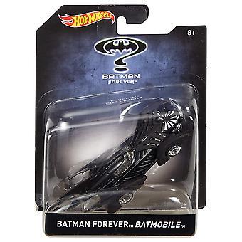 Hot wheels batman forever batmobile 1:50