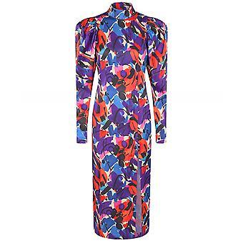 ROTATE Theresa Midi Dress