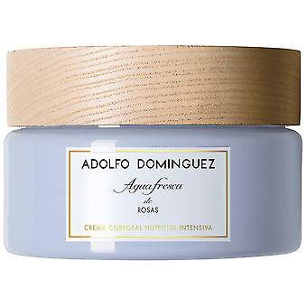 Adolfo Domínguez Fresh Water Cream Of Roses 300 gr