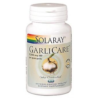 Solaray Garlicare Deodorized 60 tabletten