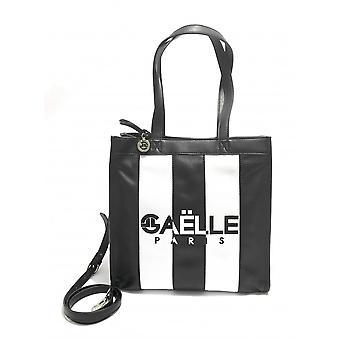 Gaëlle Shopper Women's Bag With Black/White Shoulder Strap Bs21ge25 Gbda2217