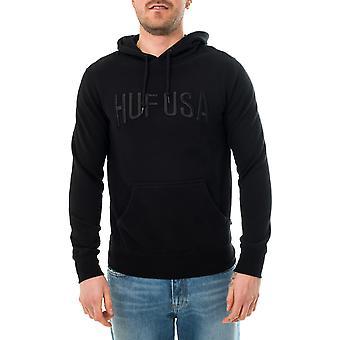 Huf team logo p/o hoodie men's sweatshirt