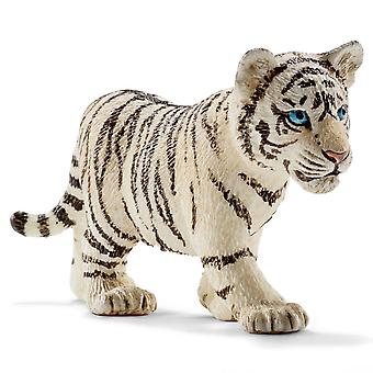 Schleich vit Tiger Cub