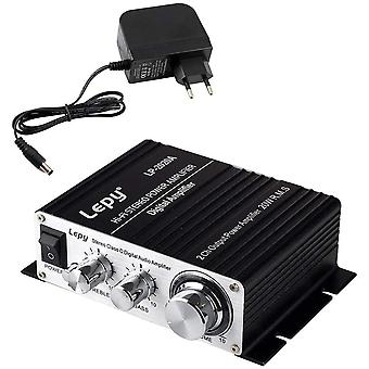 FengChun LEPY LP2020A Digital-Audio-Verstärker HiFi (2x 20 Watt) Stereo Design Verstärker für