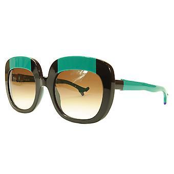 Face A Face Sunglasses Frame BOCCA Lova 1 4027 Acetate Black Emerald Italy Made