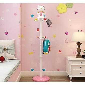Aterrizaje de los niños cartoon clothes rack simple percha moderna