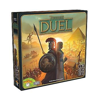 7 Wonders Extension Board Game 7 Wonders Duel 2 Player Strategy Board Card Game English Version Game