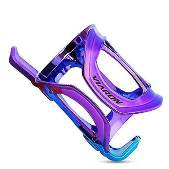 Violetti mtb pyörä vesipullo pidike häkki kuppi pullo tukiteline ultrakevyt az9794