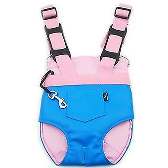 M albastru outing portabil piept sac pui mici spate pisica sac de companie rucsac sac de călătorie az7892
