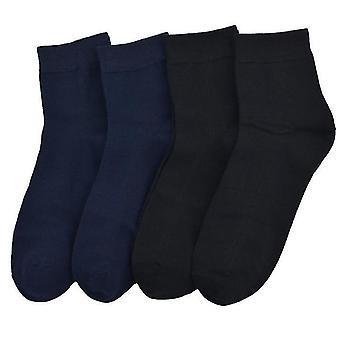 S3 4 זוגות גרביים של גברים פסים גרביים צינור עסקים גרביים נשימה זיעה סופג ספורט גרביים x564