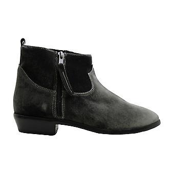 STEVEN by Steve Madden Women's Aero Ankle Boot, Black Velvet, 8 M