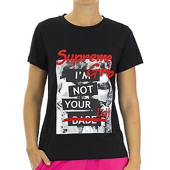 Supreme Grip Women T-Shirt  Firebird Black
